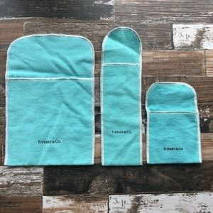 Authentic Tiffany&Co. Pouches